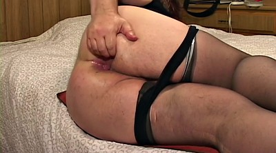 Bbw solo, Nylon cock, Female, Anal solo, Stockings solo, Nylon bbw
