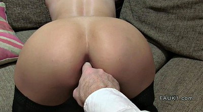 Anal, Big ass, Casting anal, Stocking anal, Stockings anal
