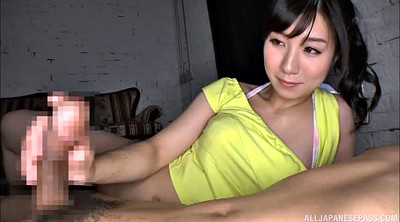 Asian handjob, Japanese girl