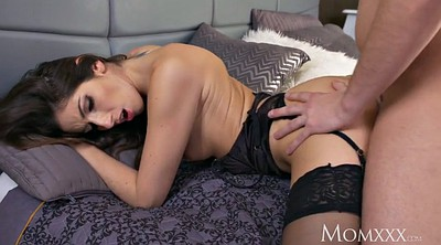 Sexy mom, Mom creampie, Stockings mom, Suspended, Stocking mom, Mom stocking