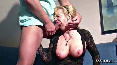 Step son, Fuck son, Young german, Milf son