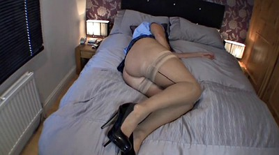 Uniform, Milf solo, Big butt milf, School uniform