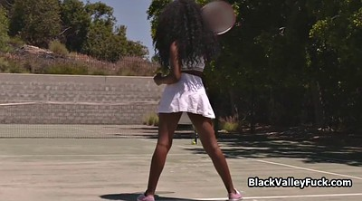 Tennis, Reality, Black tits