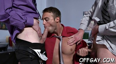 Office anal, Gay anal