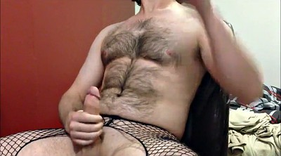 Daddy, Stockings masturbation, Fishnet