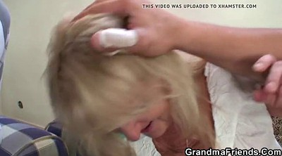 Granny party, Old blonde, Mature party, Mature blonde