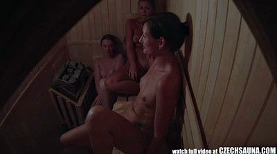 Hidden masturbation, Sauna, Catch masturbation