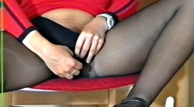 Pantyhose granny, Movie, German granny
