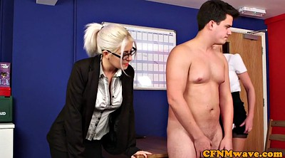 Cfnm, Office masturbation