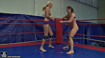 Cathy heaven, Fight, Wrestling, Cat fight