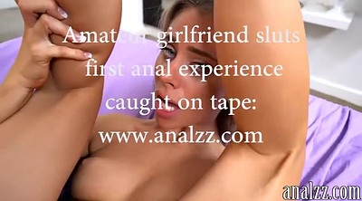 Times, First time, First time anal, Blond anal, First anal sex, Gf anal