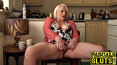 Granny masturbation, Mature blonde, British mature