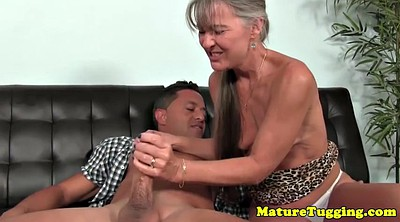 Big nipple, Mature nipples, Granny handjob