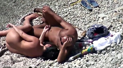 Naked public, Beach sex