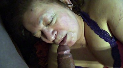 Mexican, Bbw granny, Granny sucking