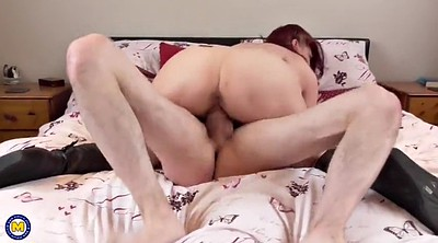 Granny, Son mom, Mom seduce, Mom & son, Son & mom, Mom seducing