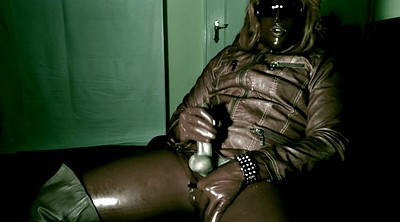 Milking, Leather, Latex masturbation, Gay milk, Cock milking