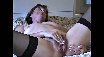 Horny mom, Hairy mom, Hairy milf