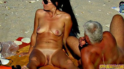 Clit, Nude beach, Close up