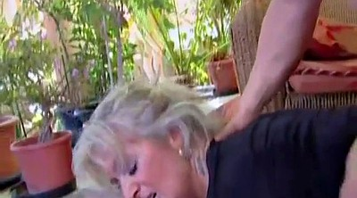 Granny bbw, Blonde mom