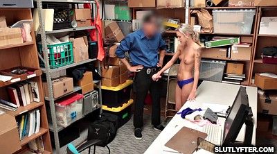 Shoplifter, Pussy fuck, Teen doggystyle