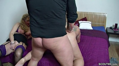 Money, Couples money, Real threesome, Couple casting