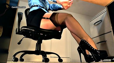 Heels, Stockings solo, High heels, High