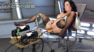 Machine, Tied, Tie, Masturbation machine, Machine bondage, Tied and fucked