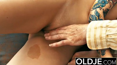 Old man, Pussy, Young man, Old and young, Russian granny, Granny pussy lick