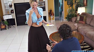 Handjob, Jodi west, Jody west, Mom hot, Mom handjob, Your mom