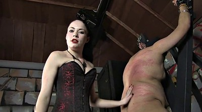 Caning, Slave, Femdom caning