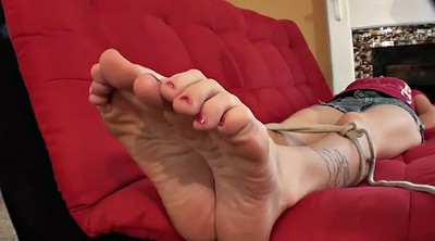 Foot worship, Tie, Foot bondage