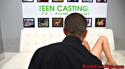 Casting babe, Restrained, Bang casting