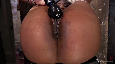 Chanel, Hard spank, Black slave
