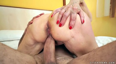 Penis, Spread, Mature woman