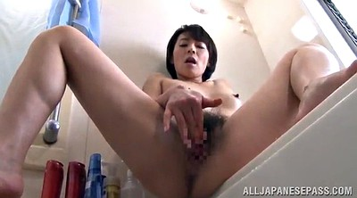 Hairy, Shower, Solo hairy, Asian model