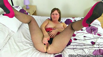Mature pantyhose, Very, April