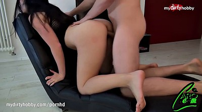 Fat ass, Ride, German big tits, Big tits creampie