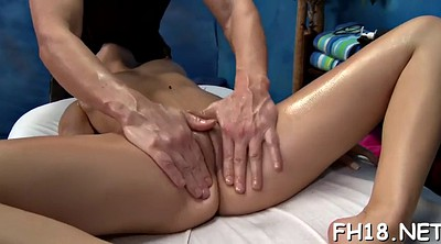 Leggings, Oil massage, Spreading