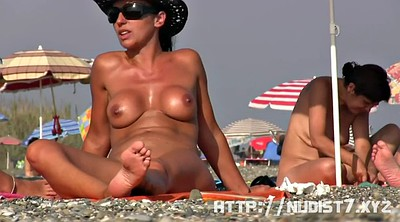 Nudist, Nudists, Outdoors, Fat pussy, Beach voyeur, Bbw cumshot