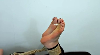 Tickling, Tickle, Hogtied, Hogtied foot, Tickle foot