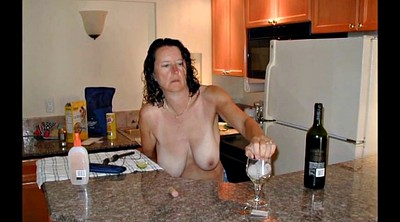 Caught, Mom kitchen, Mature wife, Mom caught