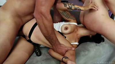 Valentina-nappi, Nappy, Threesome anal, Hairy sex