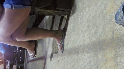Foot fetish, Sole, Candid