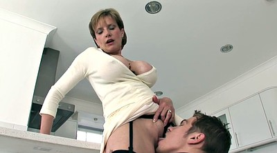 Big tits mature, Work sex