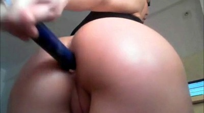 Pregnant, Nipple, Anal sex, Pregnant anal, Big toy