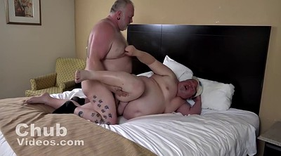 Fat gay, Fat daddy, Loads, Big load