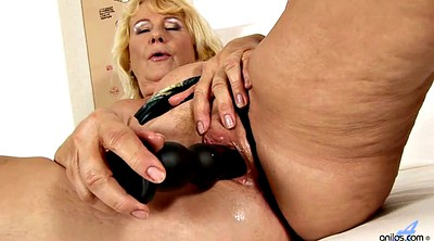 Mature, Grannies, Granny masturbation, Mature granny, Granny blonde