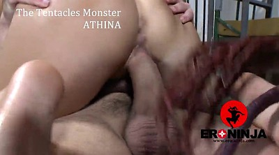 Monster, Tentacle, Cosplay, Tentacles, Monster sex, Monster creampie
