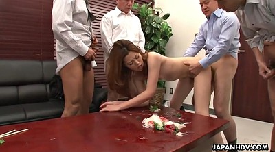 Japanese office, Yui, Asian creampie, Japanese gangbang, Asian sex